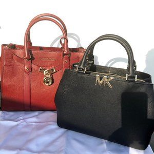 Two Authentic Michael Kors Purses